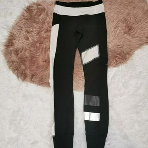 Lululemon Speed Tight Color Block Reflective Sz 2